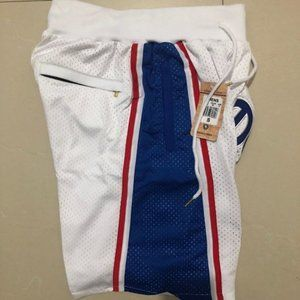 New Just Don Philadelphia 76ers Basketball Shorts1